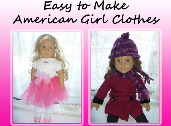 Easy to Make American Girl Doll Clothes