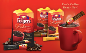Free Sample of Folgers Fresh Breaks Coffee