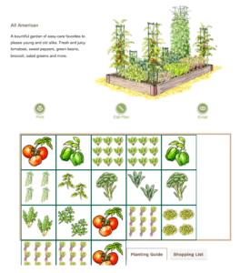 Gardener's Supply Kitchen Garden Planner