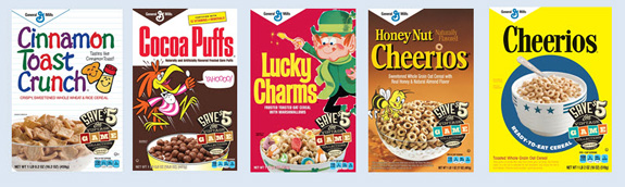 Go retro with Big G Cereals at Target