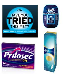 New P&G free samples