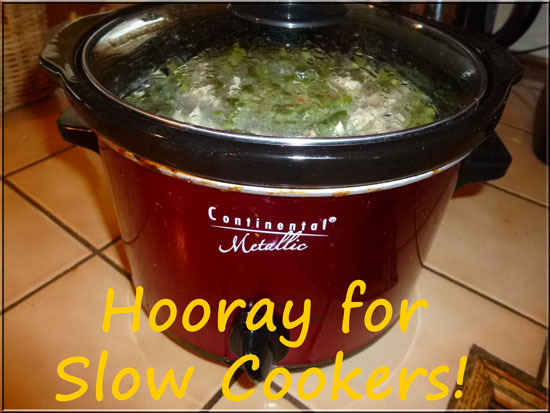 Slow Cookers Save the Day (or Dinner!)