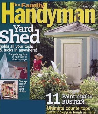 Family Handyman Magazine for Just $4.99 a Year