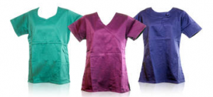 medical scrub tops on sale