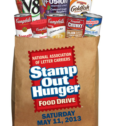 Donate to the Stamp Out Hunger Food Drive