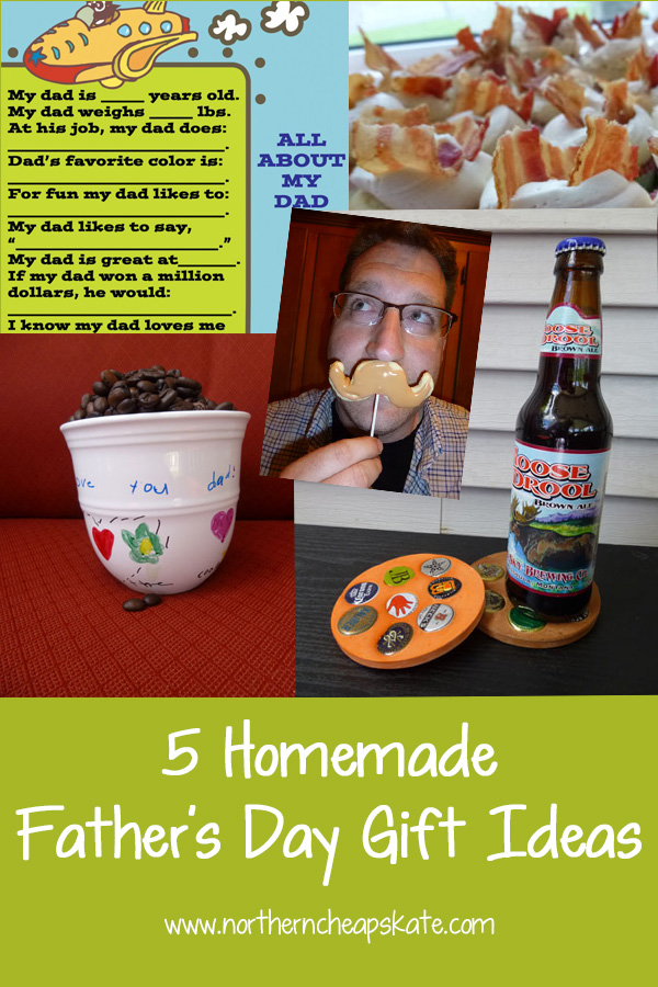 5 Homemade Father's Day Gift Ideas