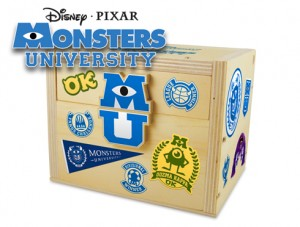 Free Lowe's Build & Grow Clinc: Monsters University Chest