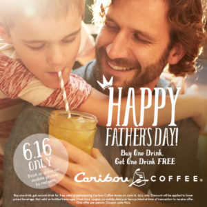 Father's Day Caribou Coffee Coupon
