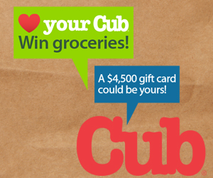 Love Your Cub Contest: Win $4,500 in Groceries