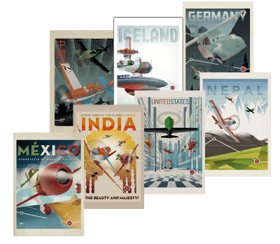 Free Printable Disney Planes Travel Posters