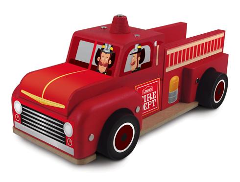 Free Lowe's Build & Grow Clinic: Classic Fire Truck