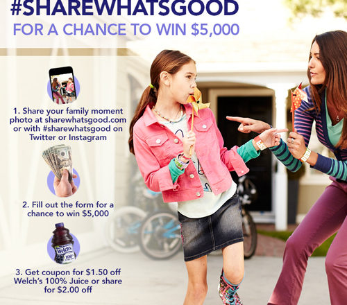 Enter the Welch's Share What's Good Photo Contest
