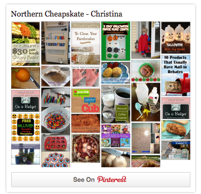 Northern Cheapskate on Pinterest