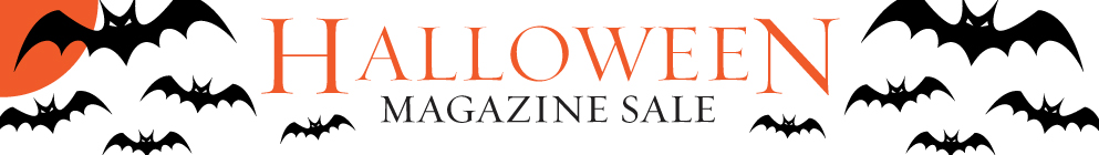 Halloween Magazine Sale