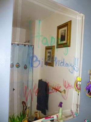 Make a Child's Birthday Special: Write a Message