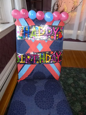 Make a Child's Birthday Special: Birthday Chair