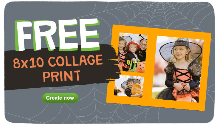 Free 8x10 Collage Print at Walgreens