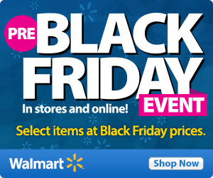 Select Walmart Black Friday Deals Available Now