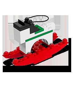 Free LEGO Mini Build: LEGO Rocking Horse