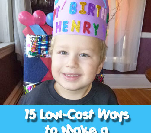 15 Ways to Make a Child's Birthday Special