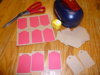Creative Homemade Gift Tags Supplies