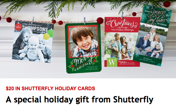 Free $20 Shutterfly Credit from My Coke Rewards