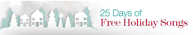 25 Days of Free Holiday Songs