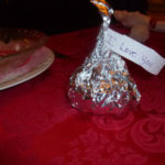 Creating a Tablescape: Adorable Hershey's Kiss treats