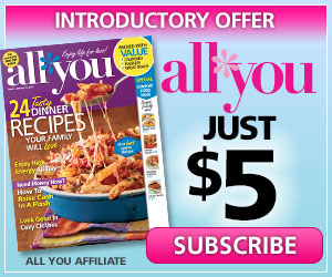 Get a Year of All You Magazine for Just $5