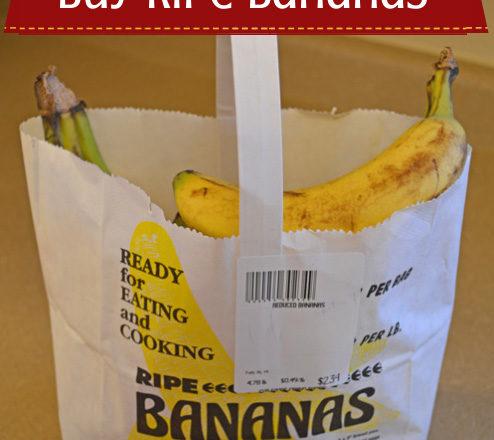 Cheap Trick: Buy Ripe Bananas