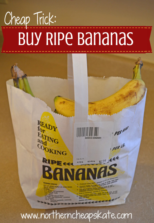 Cheap Trick: Buy Ripe Bananas