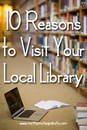 10 Reasons to Visit Your Local Library