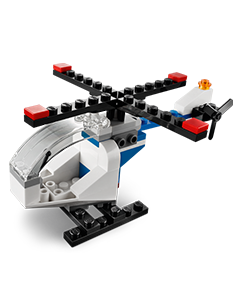 Free LEGO Mini Build: LEGO Helicopter