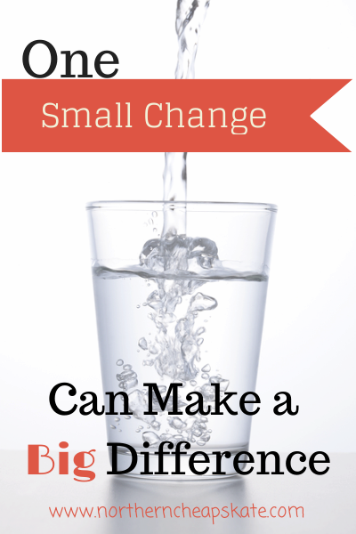One Small Change Can Make a Big Difference