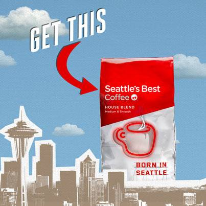 Free Sample of Seattle's Best Coffee