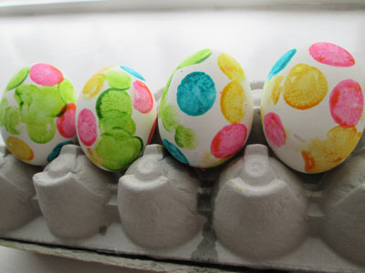 Five Spring Dot Marker Art Projects: Easter Eggs