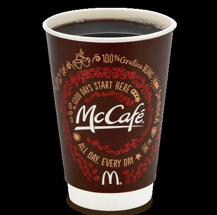 Free Small McDonald's McCafe Coffee