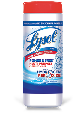 Free Lysol Power & Free Wipes After Rebate