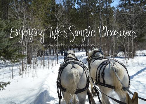 Enjoying Life's Simple Pleasures
