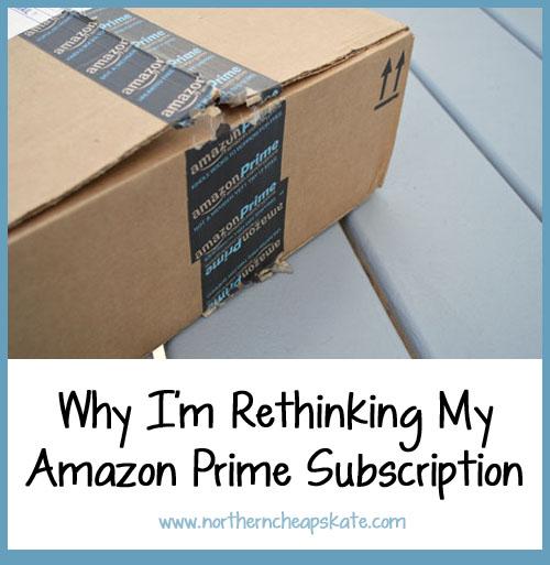 Why I'm Rethinking my Amazon Prime Subscription