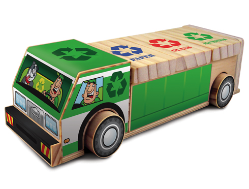 Free Lowe's Build & Grow Clinic: Recycling Truck