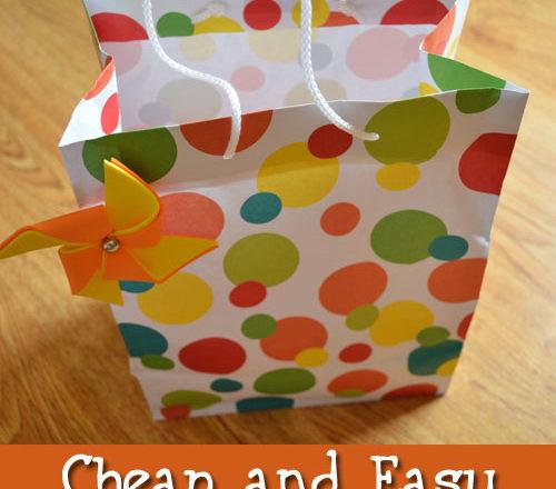 Cheap and Easy Gift Bag Filler