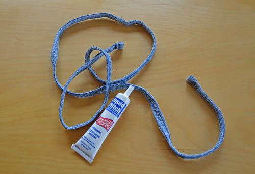 How to Make Denim Coasters: Denim Cord