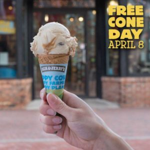 Free Cone at Ben & Jerry's