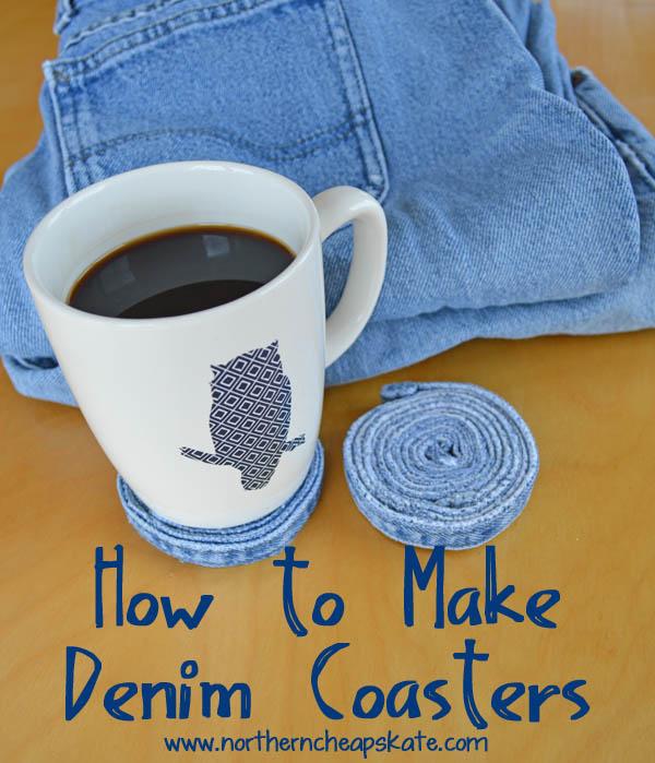 How to Make Denim Coasters