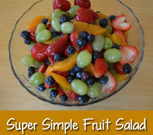 Super Simple Fruit Salad