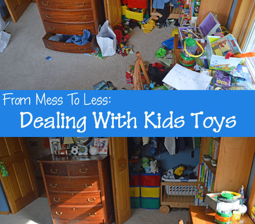 From Mess to Less: Dealing With Kids Toys