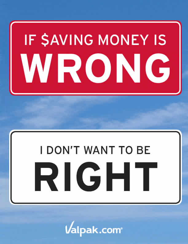 If Saving Money Is Wrong, I Don't Want To Be Right