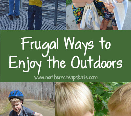 Frugal Ways to Enjoy the Outdoors