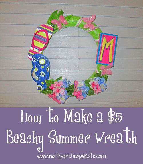 How to Make a $5 Beachy Summer Wreath
